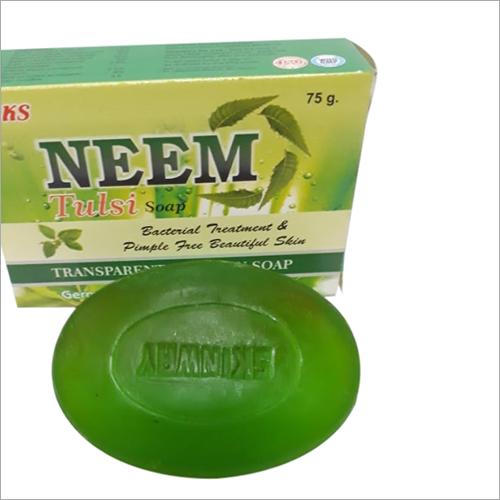 TRANSPARENT NEEM TULSI SOAP