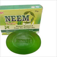 TRANSPARENT NEEM TULSI SOAP