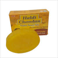 TRANSPARENT HALDI CHANDAN SOAP