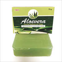 TRANSPARENT  ALOEVERA SOAP