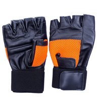gym gloves with wrist support