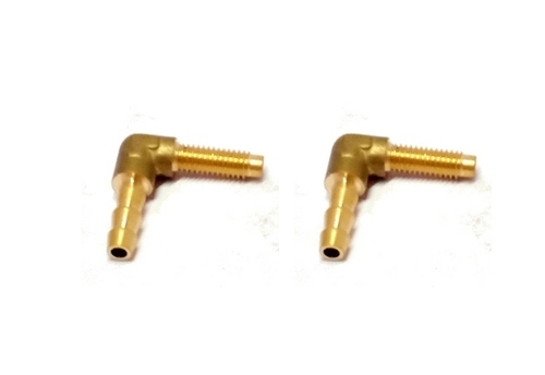 CNG Brass L Type Connector