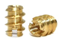 SELF TAPPING THREADED BRASS INSERTS