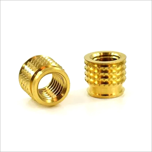 THREADED BRASS INSERTS FOR PLASTIC
