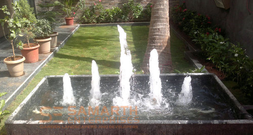Mountain Shape Fountain