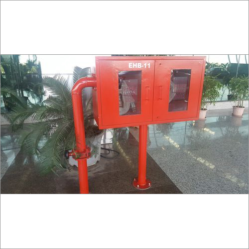 Fire Hose Box with Hydrant Valve fittings