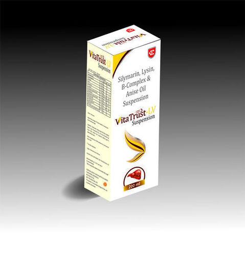 Silymarin B Complex & L Lysine Syrup