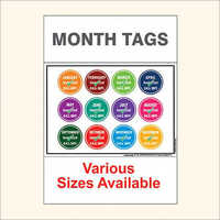 month tag