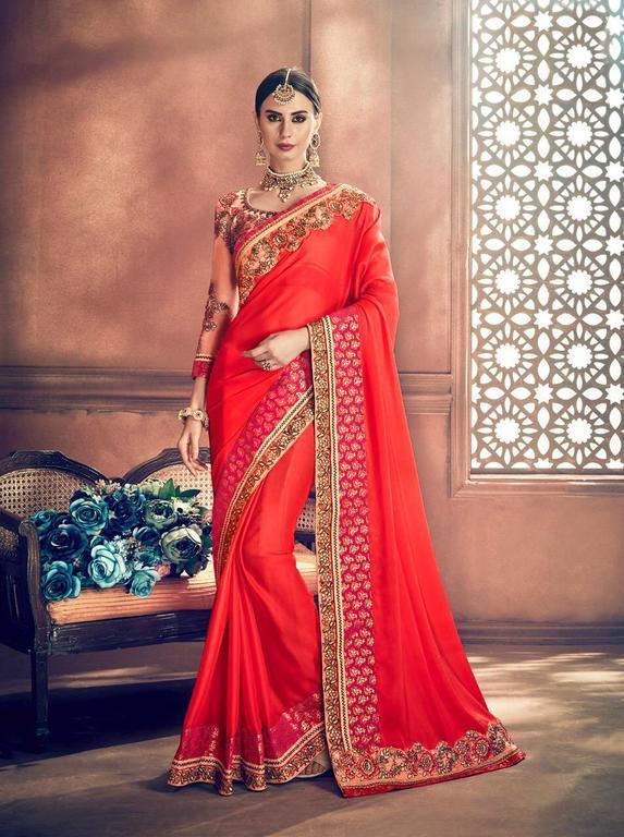 Wedding Wear Designer Sarees