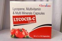 (Lycopene with Muli tivitamin & Multi Minerals) Capsules