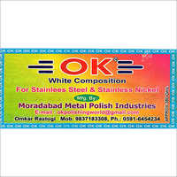 White Composition for Stainless Steel