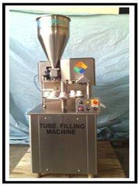 Semi Automatic Single Head Tube Filling & Sealing Machine