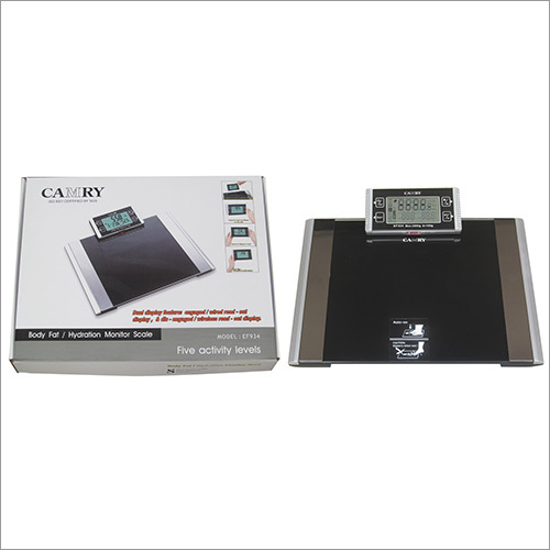 Body Fat Hydration Monitor Scale