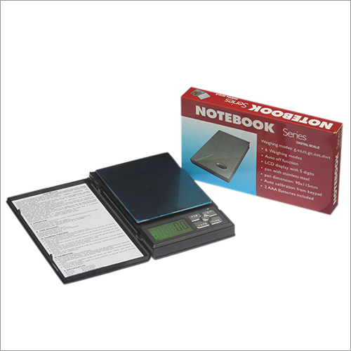 Notebook Weighing Scale