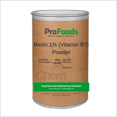 Biotin 1%% Vitamin B7 Powder