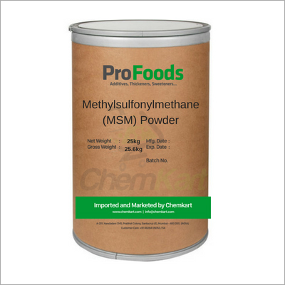 Methylsulfonylmethane MSM Powder