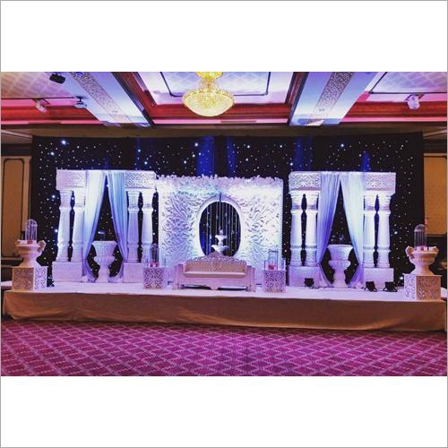 Wedding Fiber Backdrop