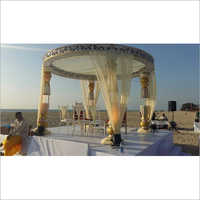 Outdoor Fiber Mandap