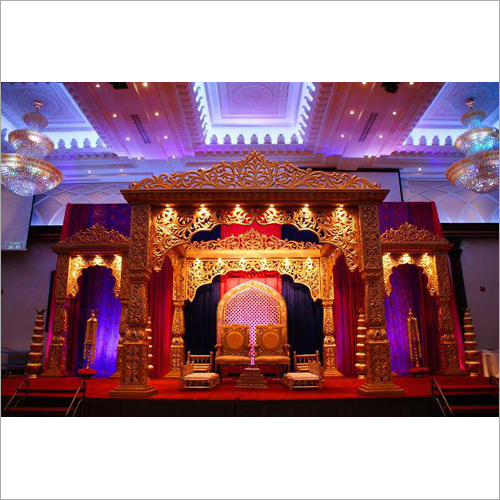 Wedding Fiber Mandap