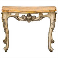 Wooden Antique Console Table