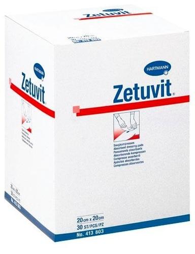 Zetuvit suction compresses sterile 10x20cm 25p