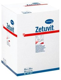 Zetuvit suction compresses sterile 10x20cm 25p