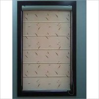 Open Roman window Blind