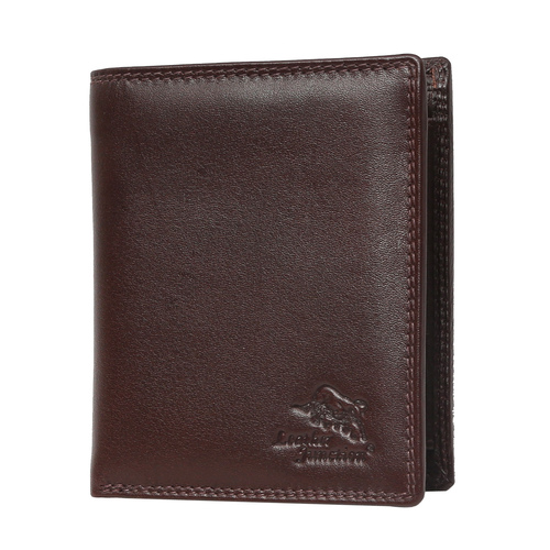 Men's Brown Pure Leather Wallet