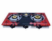 Marble Top 3 Burner Gas Stove
