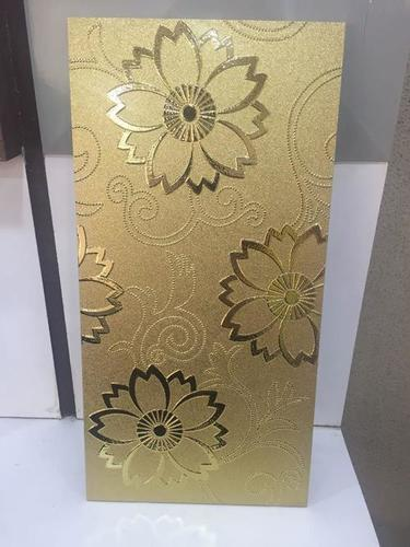 Decorative wall tiles with flower design