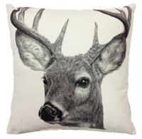 Deer Printed  Cushion cover