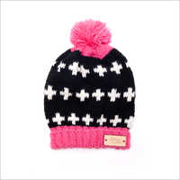 Baby Designer Knitted Cap