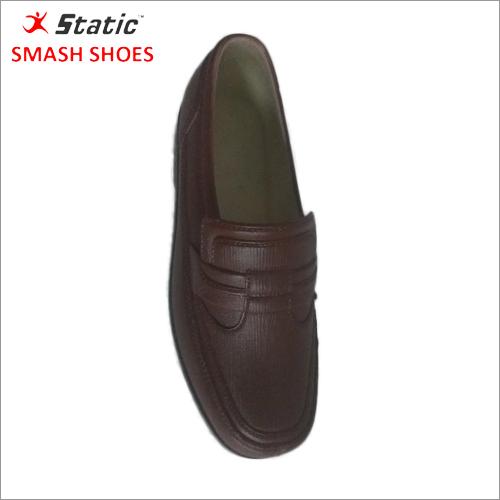 Mens PVC Black Shoes