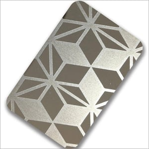 Etching Stainless Steel Sheets