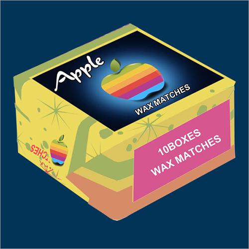 10 Wax Match box