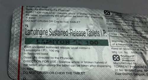 lamotrigine sustained release  tablets