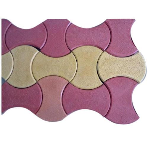 Color Interlocking Paver