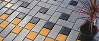 Brick Coloured Tile