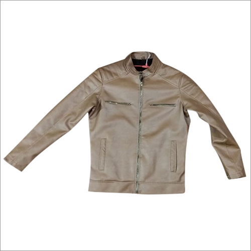 Chinese Leather Look Winter Jacket