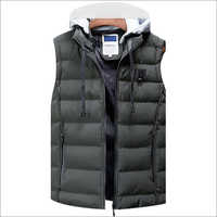 Fashionable Sleeveless Winter Jacket