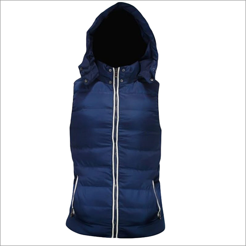 Hooded Winter Sleevless Jacket