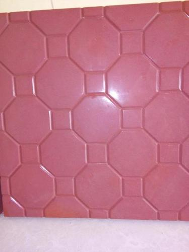 Bright Checkered Tiles