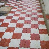 Zig Zag Flooring Tiles