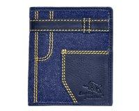 Denim Blue Men's Wallet