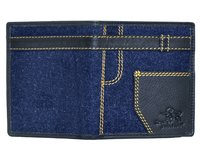 Denim Blue Men's Wallet