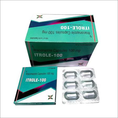 100 Mg Itraconazole Capsule