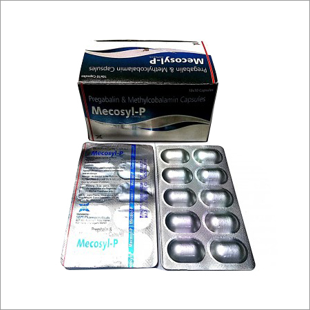 75mg Pregabalin IP 750mcg Methylcobalamin Excipient Capsule