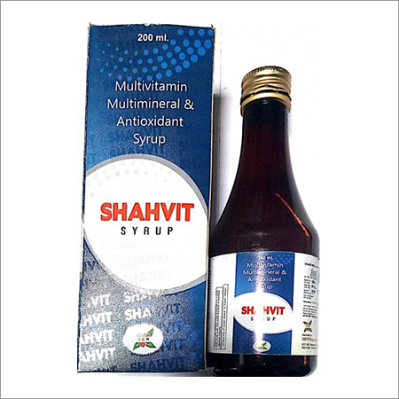 Multivitamins, Multiminerals And Antioxidants Syrup