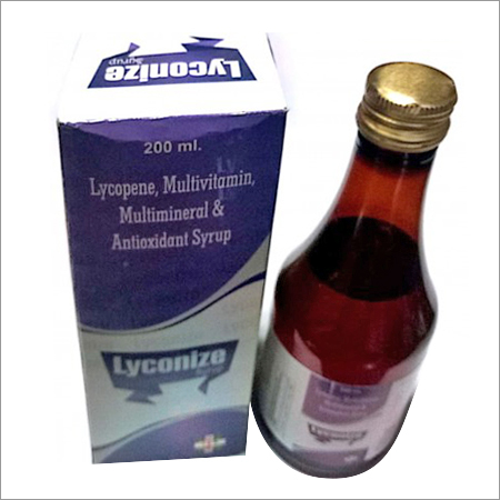 Lycopene 10 Percent 1000 Mcg. With Multivitamins And Multiminerals Syrup