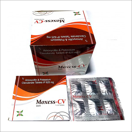 500 Mg Amoxycillin & 125 Mg Clavulanate Potassium Tablet